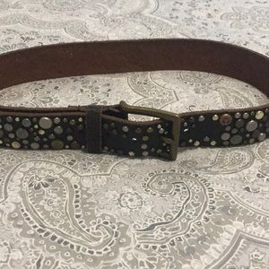 Accessories - Woman's belt with stones